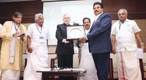 Indian State of Kerala's Governor Presented the RGIDS Award